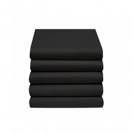 Damai Topper Hoeslaken Dubbel Jersey (zwart)