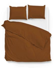 Zo! Home Dekbedovertrek Satinado (copper orange) 140x200/220