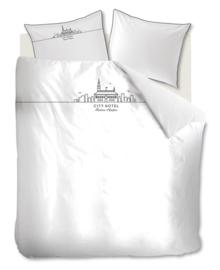 Riviera Maison Dekbedovertrek City Hotel (white) 140x200/220