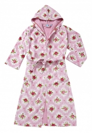 PiP Studio Badjas Flower Medaillon (pink)