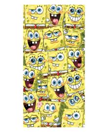 Spongebob Strandlaken Spongebob is Everywhere (yellow)