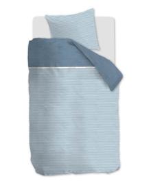 Riviera Maison Dekbedovertrek Pleaty (blue) 140x200/220