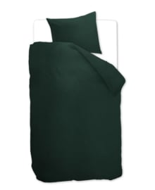 Beddinghouse Dekbedovertrek Basic (dark green) 140x200/220