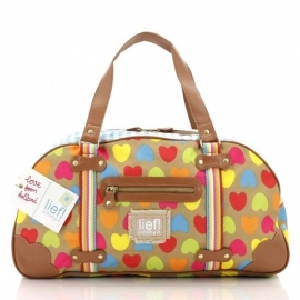 Lief! Love Letter Diaper Bag (multi)