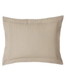 iSleep Kussensloop Satijnstreep (medium beige) 60x70