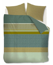 Beddinghouse Dekbedovertrek Birger (green) 200x200/220