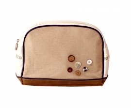 Stapelgoed Toilet Bag Natural (sand)