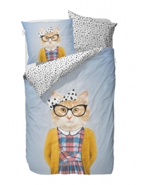 Covers & Co KIDS Dekbedovertrek Miss Kitty 140x200/220