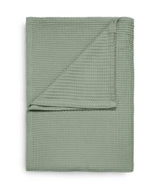 Heckett & Lane Sprei Wafel (granite green) 180x260