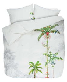 PIP Studio dekbedovertrek Indian Palms (white) 200x200/220