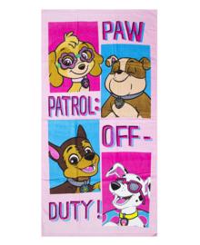 Paw Patrol Strandlaken Off Duty (pink)