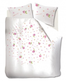 Marjolein Bastin Dekbedovertrek Soft Roses (pink) 140x200/220