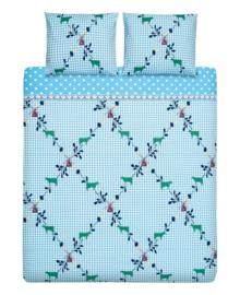 Cinderella Dekbedovertrek Marken (blauw) 140x200/220