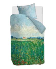 Beddinghouse Van Gogh Dekbedovertrek Field With Poppies (green) 140x200/220