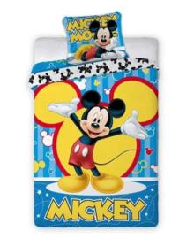 Mickey Mouse Dekbedovertrek Bubbles (multi) 140x200