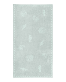 Seahorse Strandlaken Shells (mist)