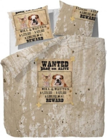 Covers & Co Dekbedovertrek Wanted (Zand) 240x200/220cm