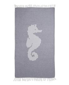 Seahorse Hamamdoek Seahorse (navy)