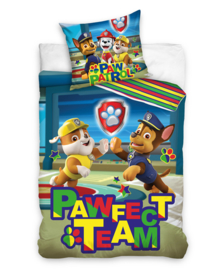 Paw Patrol Dekbedovertrek Pawfect Team (multi) 140x200