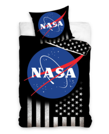NASA Dekbedovertrek USA (black) 140x200