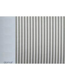 Damai Hoeslaken Streep (grijs) 70x150