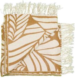 Unique Living Plaid Fiore 130x160 (hazelnoot bruin)