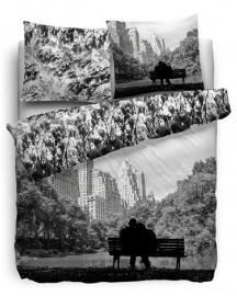 Face2Face Dekbedovertrek Central Park (grijs) 140x200/220