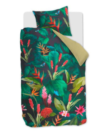 Beddinghouse Dekbedovertrek Tropical Treasure (green) 140x200/220