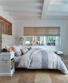 Riviera Maison Dekbedovertrek Softness (sand) 140x200/220