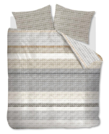Ariadne at Home Dekbedovertrek Quilted Squares (natural) 200x200/220