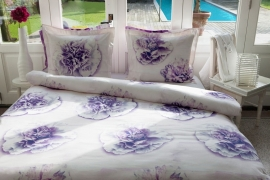 HnL Refined Dekbedovertrek Orela (purple) 260x200/220