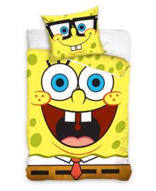 Spongebob Dekbedovertrek Always Smiling (geel) 140x200
