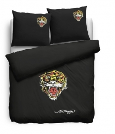 Ed Hardy Dekbedovertrek Tiger Open Mouth 200x200/220
