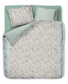 PiP Studio Dekbedovertrek Midnight Garden (white) 200x200/220