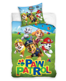 Paw Patrol Dekbedovertrek Stars (multi) 140x200