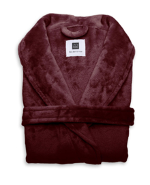 Zo! Home Badjas Cara (bordeaux red)