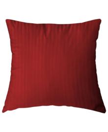 HnL Refined Kussensloop Satijn (aurora red) 80x80