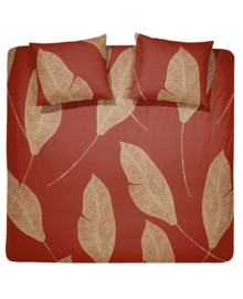 Damai Dekbedovertrek Strelitzia (red gold) 200x200/220