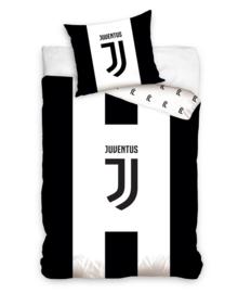 Juventus Dekbedovertrek Club Logo (black/white) 140x200