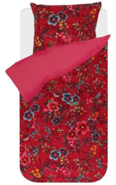 PiP Studio Dekbedovertrek Floral Delight (red) 200x200/220