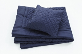 Essenza Bedsprei Diamond (blue)