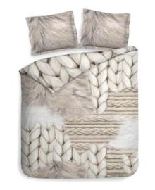Heckett & Lane Dekbedovertrek Bodett (cream ivory) 260x200/220