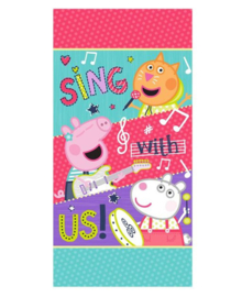 Peppa Strandlaken Sing With Us (multi)