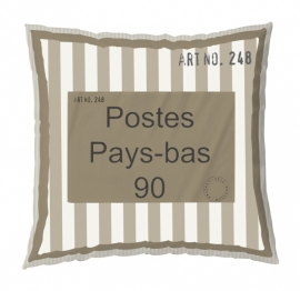 Stapelgoed Sierkussen XL Post (brown) 75x75