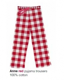 Marieke at Home Dames Pyjamabroek Anne (red)