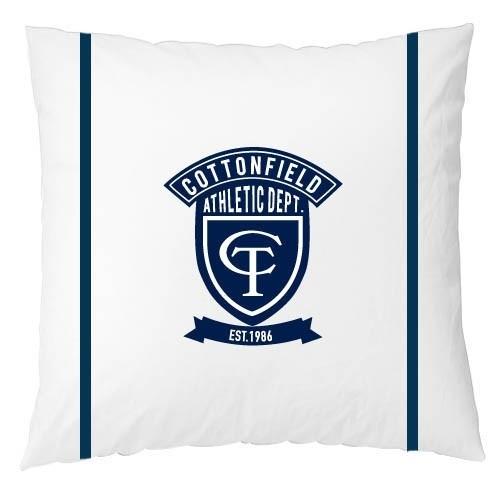 Cottonfield Sierkussen Athletic (white)