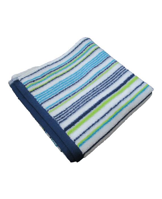 Aquanova Baddoek Stripes (blue) 50x100