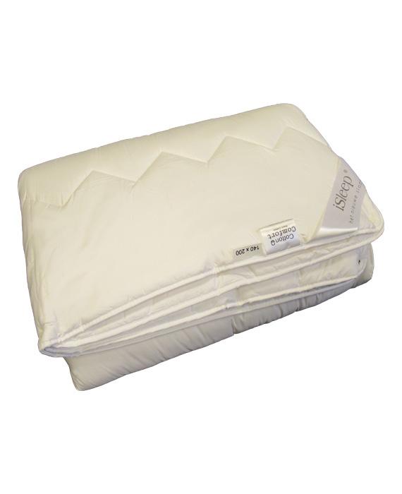 iSleep Cotton Comfort Partnerdekbed 4-Seizoenen