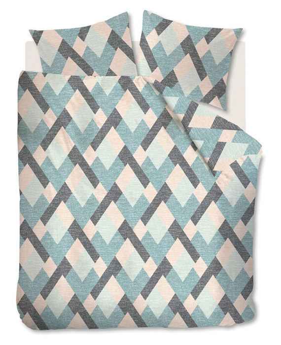 Beddinghouse Flanellen Dekbedovertrek Montero (pastel) 240x200/220