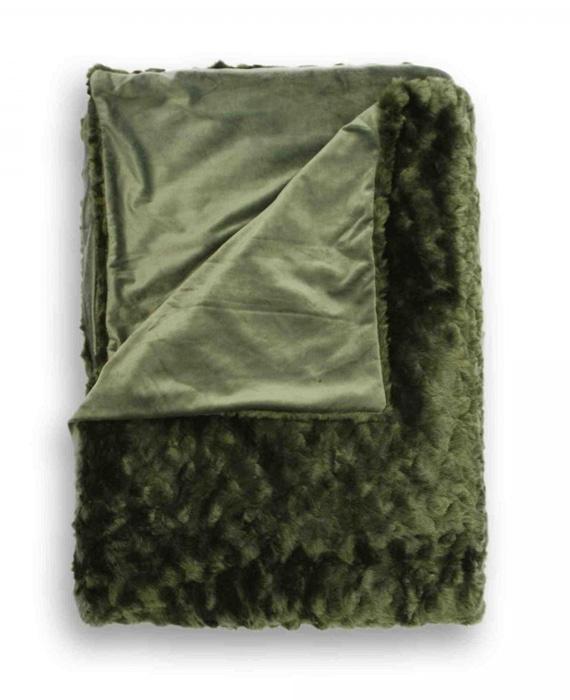 Heckett & Lane Plaid Sheba (dark green) 150x220